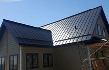 house metal tin roof
